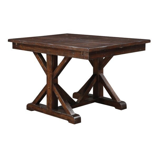 Tesch Extendable Dining Table by Loon Peak