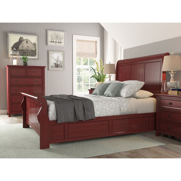 Chehalis Sleigh Bed by Darby Home Co