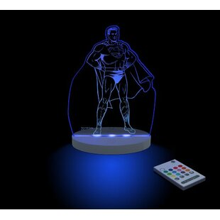 Compare Superman LED Night Light By CompassCo