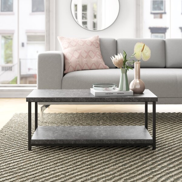 Slate Faux Concrete Coffee Table by Foundstone Foundstone