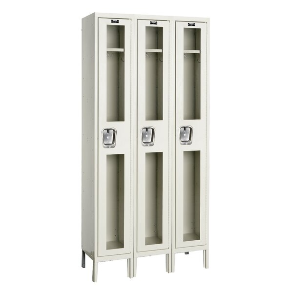 Safety-View 3 Tier 1 Wide Storage Locker by Hallowell