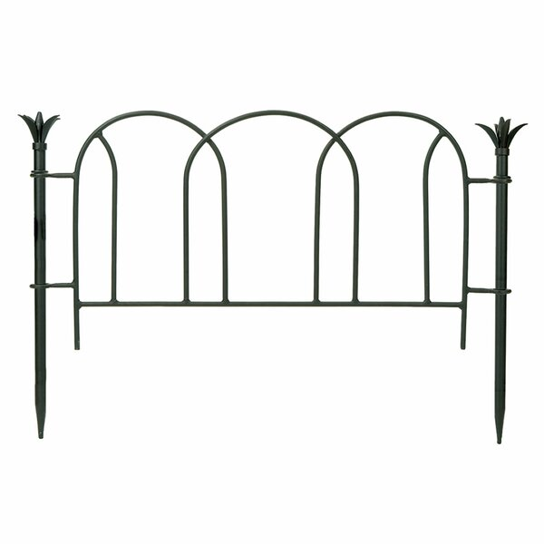 2 ft. H x 3.5 ft. W Scallop Fence by ACHLA