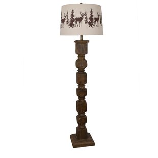 Look for Stephenson 62'' Floor Lamp By Loon Peak