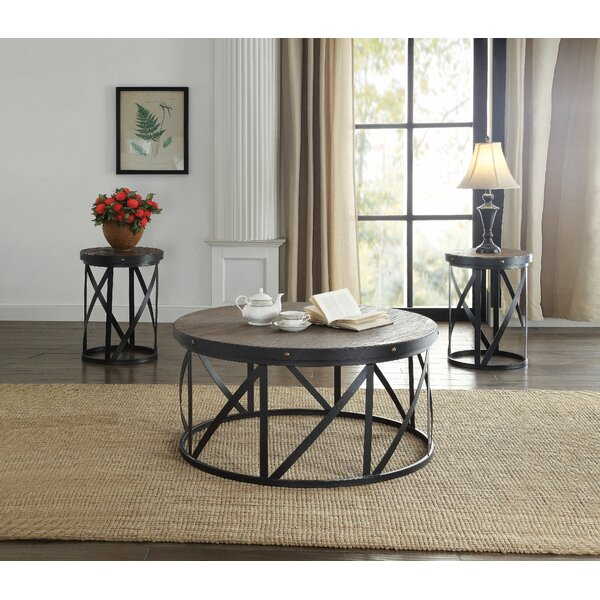 Desdemona 3 Piece Coffee Table Set by 17 Stories