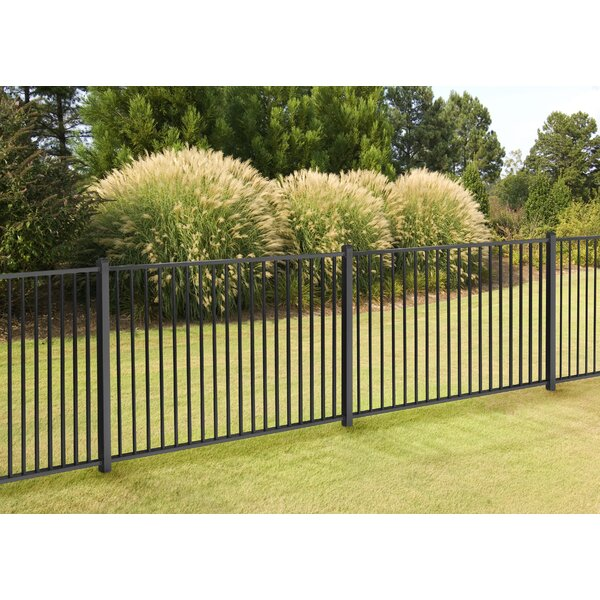4 ft. H x 7 ft. W Slim Jim Fence Panel by Wam Bam Fence CO.