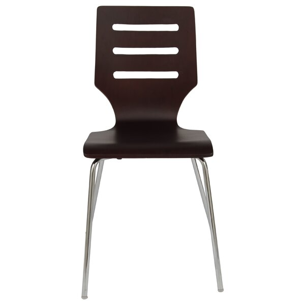 Celia Stacking Patio Dining Chair By Orren Ellis