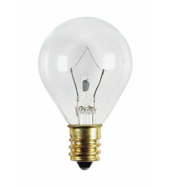 20W E12 Incandescent Edison Candle Light Bulb by Westinghouse Lighting