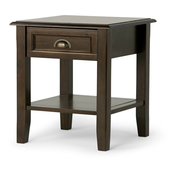 Mclaren End Table with Storage by Alcott Hill