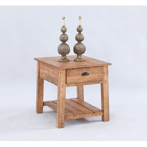 Plutarchos End Table by August Grove