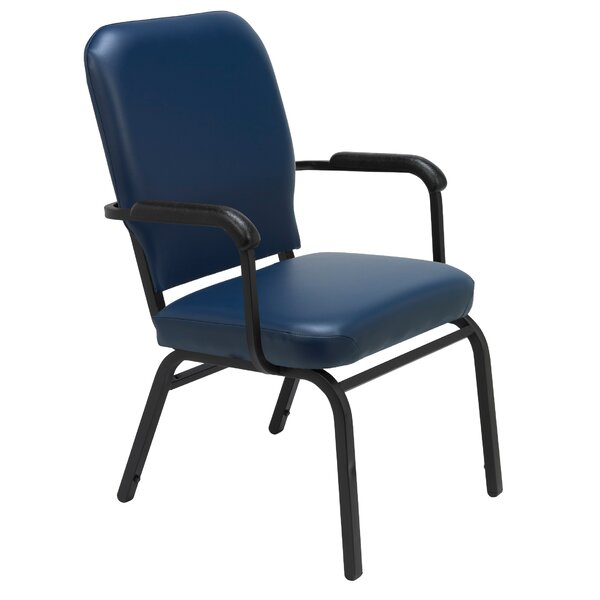 1040 Series Heavy Duty Stacking Chair with Cushion by KFI Seating