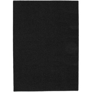 Blackest Black Shazaam Area Rug ByGarland Rug