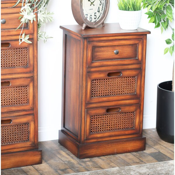 Bryce 3 Drawer Nightstand by Bay Isle Home
