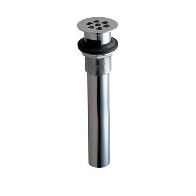 1.25 Grid Kitchen Sink Drain With Overflow by Chicago Faucets
