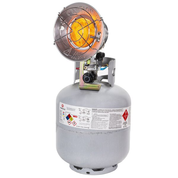 Portable Infrared Heater 15,000 BTU Propane Tank Top By XtremepowerUS