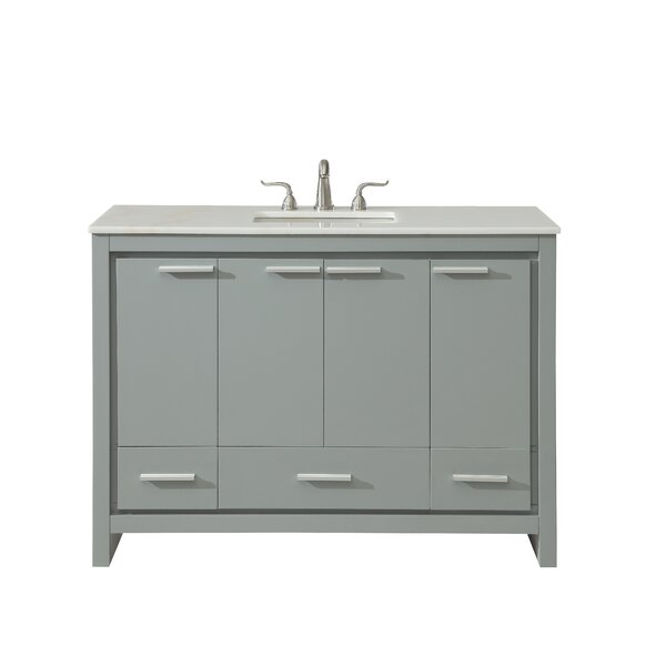 Easterling 48 Single Bathroom Vanity Set by Ebern