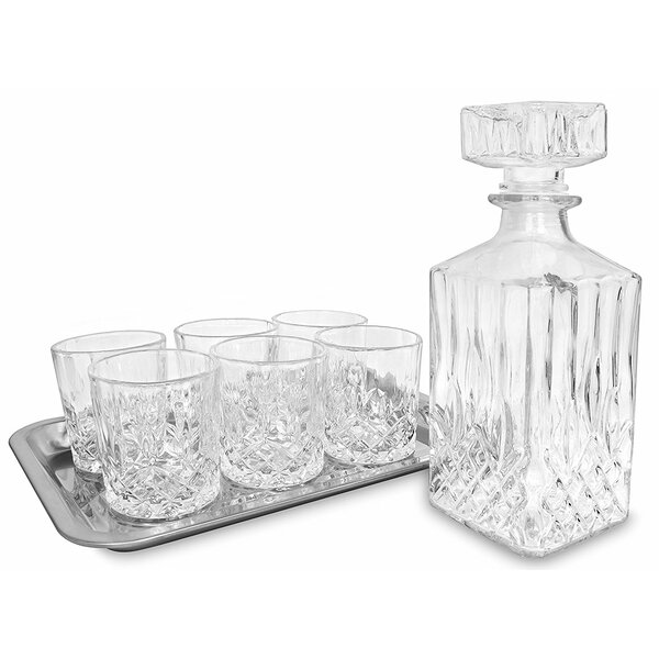 Ehrenfeld 8 Piece Beverage Serving Set By Alcott Hill.