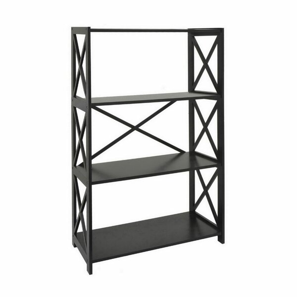 Mertens Wood Etagere Bookcase by August Grove