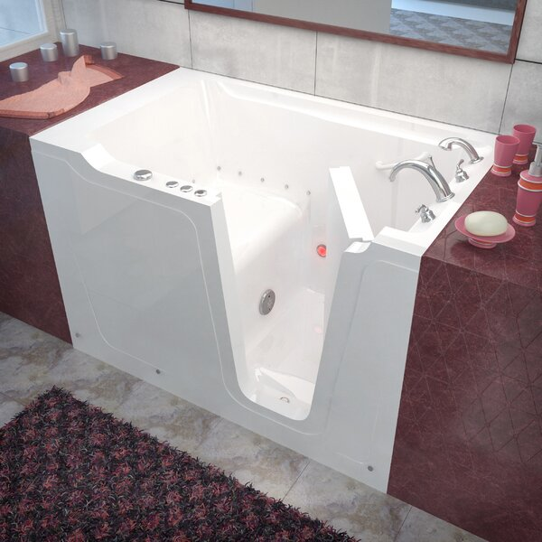 Crescendo 60 x 36 Walk-In Air Jetted Bathtub by Therapeutic Tubs
