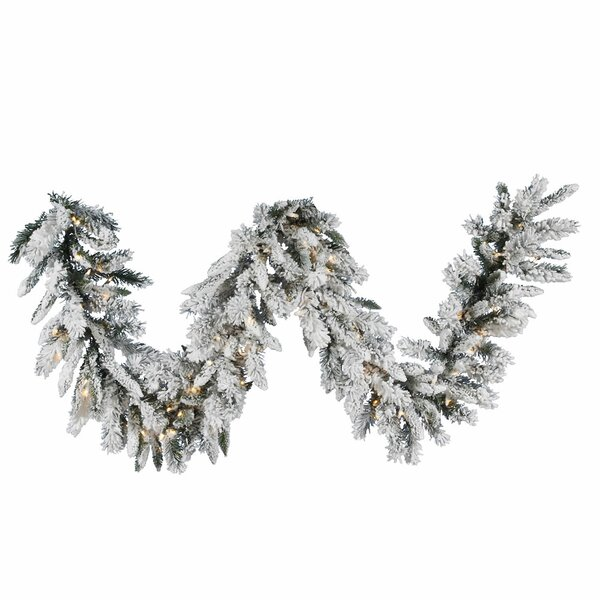 Snow Ridge Sprays Garland by Vickerman
