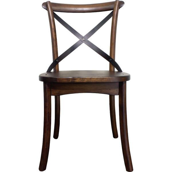 Aguon Solid Wood Dining Chair (Set Of 2) By Three Posts Three Posts