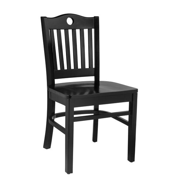 Herzig Solid Wood Dining Chair (Set of 2) by Winston Porter