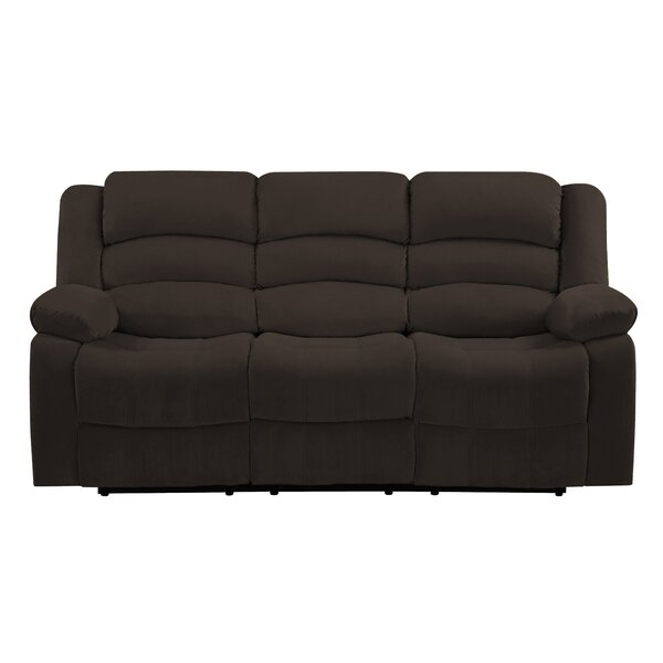 Valuable Quality Updegraff Living Room Reclining Sofa by Winston Porter by Winston Porter