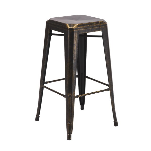 Backless Metal 30 Bar Stool (Set of 2) by Vogue Furniture Direct