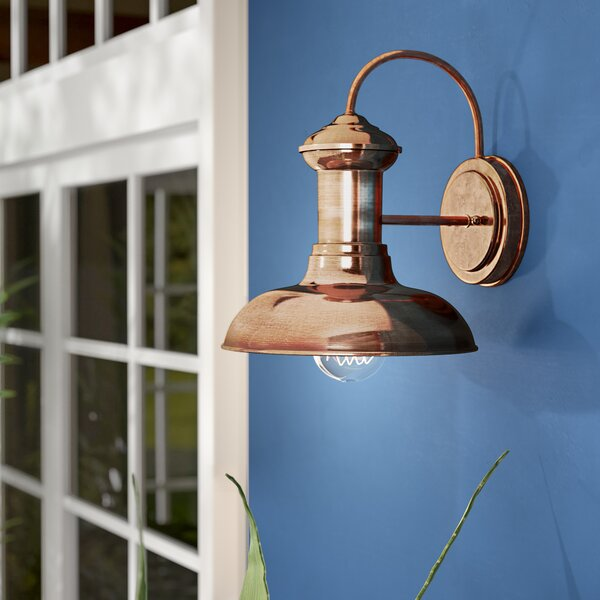 Labelle 1-Light Outdoor Wall Lantern by Beachcrest Home