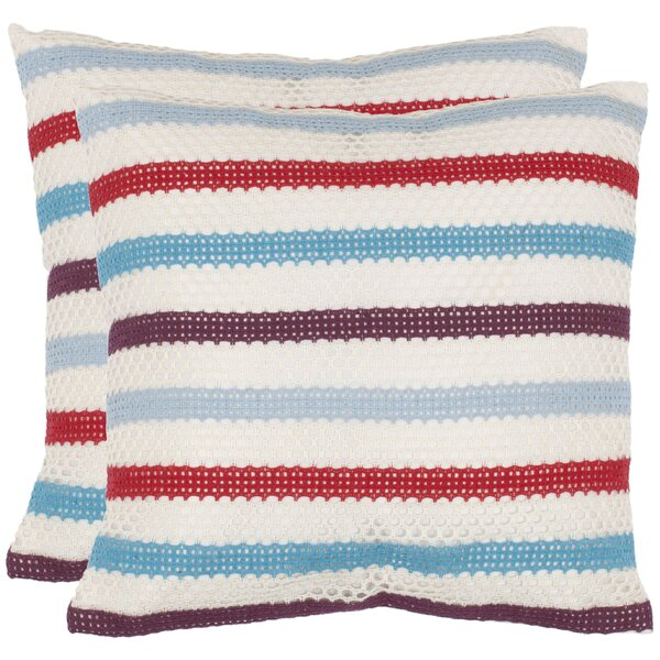 Leslie Throw Pillow (Set of 2) by Safavieh