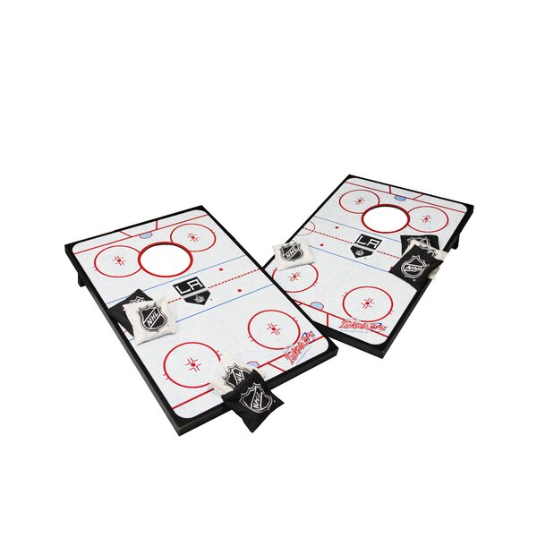 NHL Cornhole Game Set by Tailgate Toss