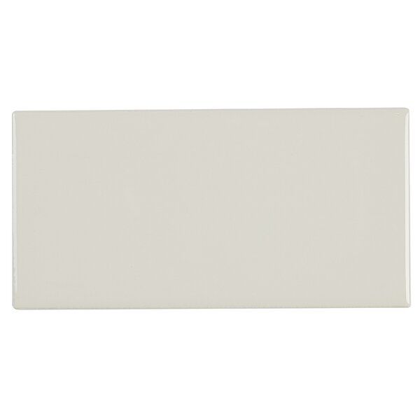 Guilford 3 x 6 Ceramic Subway Tile in Almond by Itona Tile
