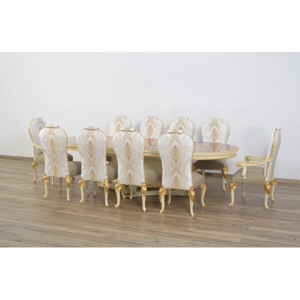 Busch Luxury 11 Piece Dining Set by Astoria Grand