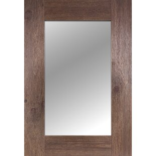Millwood Pines Throncliffe Solid Wood Accent Mirror