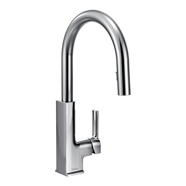 STo Pull Down Single Handle Kitchen Faucet by Moen