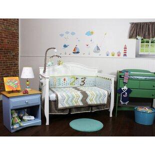 Eltingville Chevron 8 Piece Crib Bedding Set ByHarriet Bee