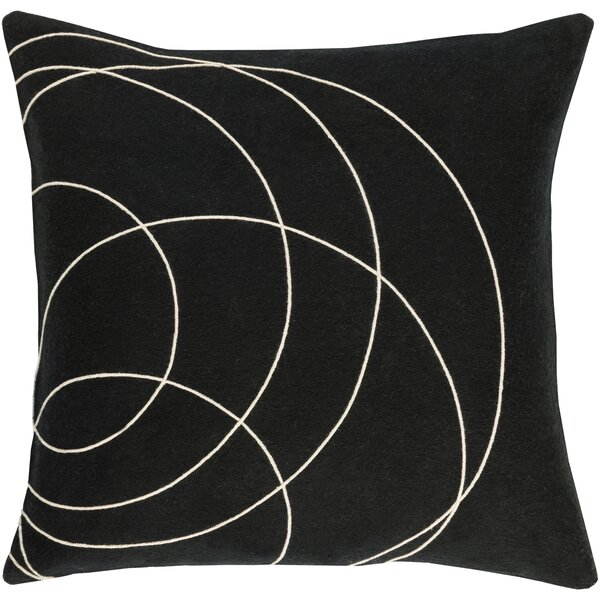 Bold Wool Throw Pillow by Bobby Berk Home