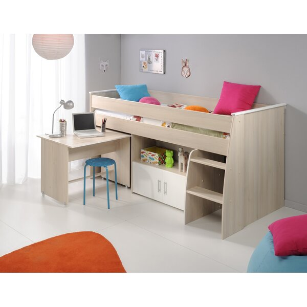 Demeter Midsleeper Twin Bed by Zoomie Kids