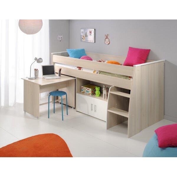 Demeter Midsleeper Twin Bed By Zoomie Kids by Zoomie Kids New