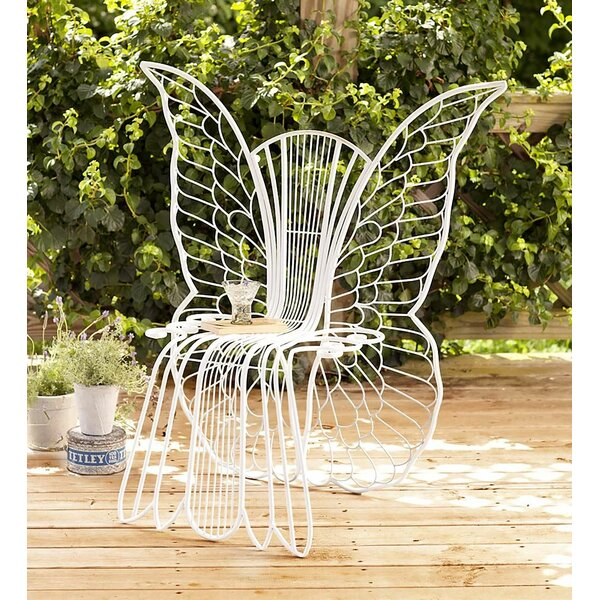 Metal Angel Wing Chair by Wind & Weather
