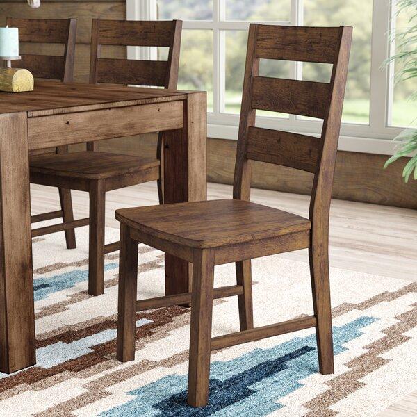 Maci Solid Wood Dining Chair (Set of 2) by Mistana