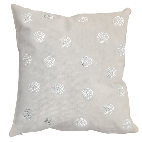 Rhinestone Bobble Throw Pillow by Sparkles Home