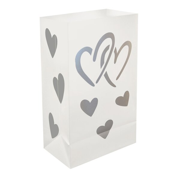 Plastic Luminaria Bags (Set of 12) by Luminarias