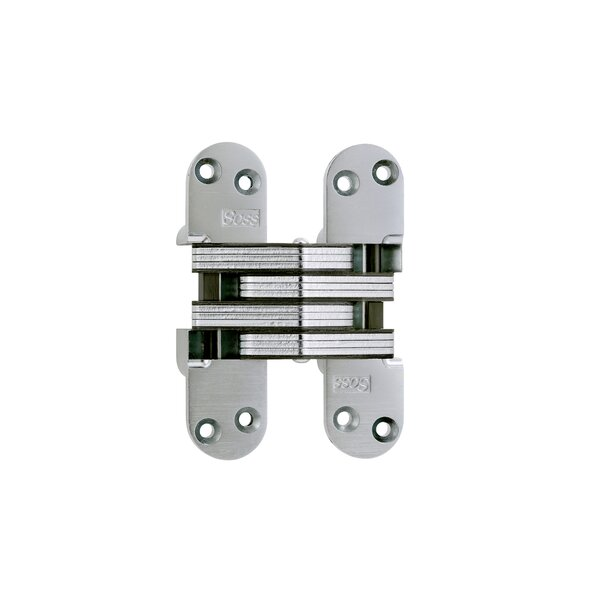5.5 H × 1.4 W Invisible Single Door Hinge by SOSS