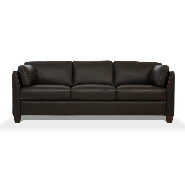Neace Leather Sofa By Latitude Run