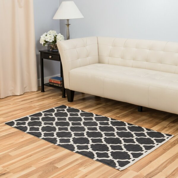 Charcoal Area Rug by Harbormill