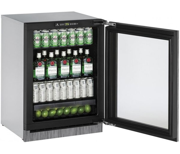 2000 Series Reversible 24-inch 4.9 cu. ft. Undercounter Refrigeration by U-Line