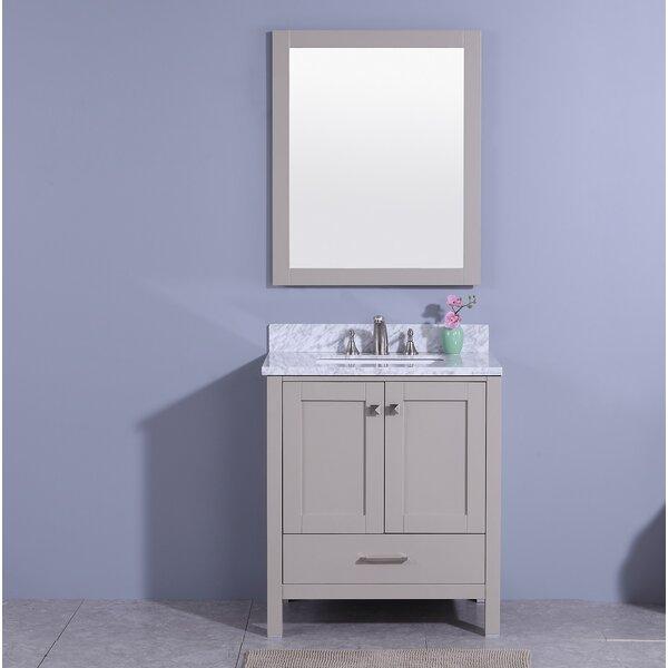 Meyers 31 Single Bathroom Vanity Set with Mirror by Andover Mills