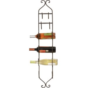 Bitter Creek 6 Bottle Wall Mounted Wine Rack by Fleur De Lis Living