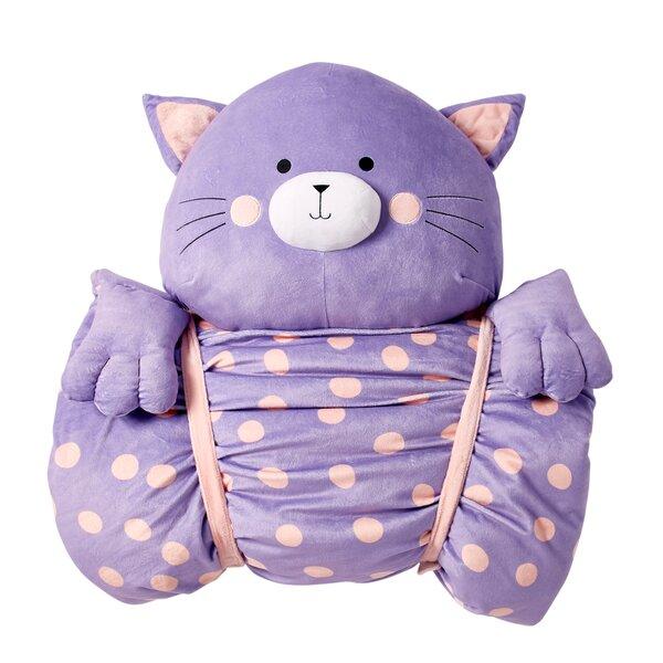 Briony Cat Slumber Bag by Zoomie Kids