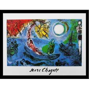 Museum Masters 'The Concert' by Marc Chagall Framed Painting Print by Buy Art For Less